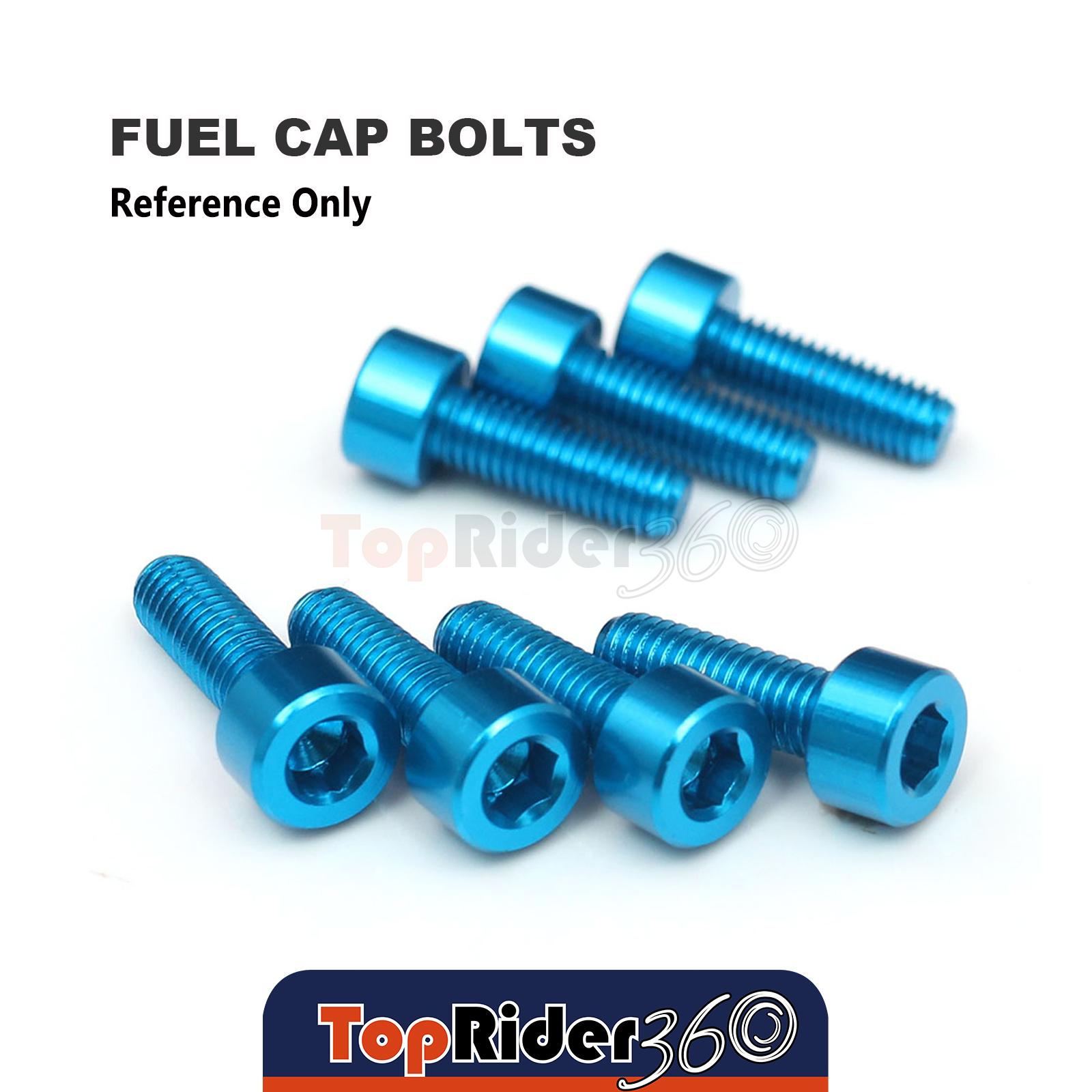 Titanium Billet CNC Gas Fuel Cap Bolts Fit Honda CB1100 16-17 16 17